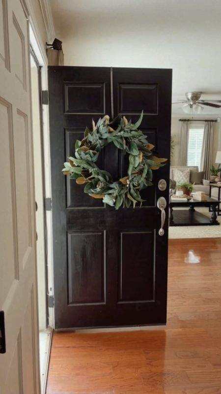 Update your front door and entry for fall with these affordable finds.  #FallDecor #FrontDoor   #LTKunder50 #LTKunder100 #LTKhome