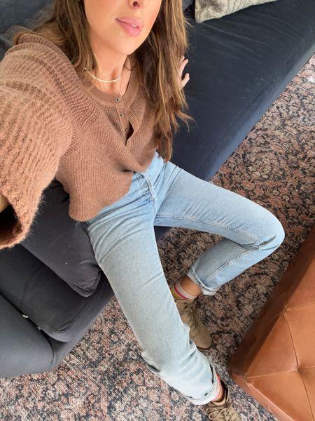 OOTD, Fall Style, Boots, AGOLDE Jeans   #LTKbeauty #LTKstyletip
