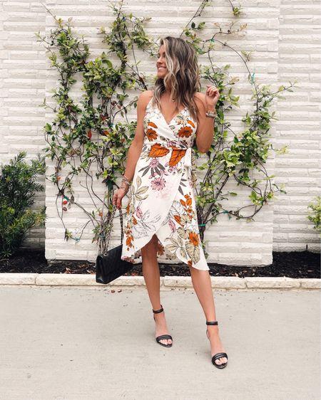The most flattering wrap dress!!   Wedding guest dress. Summer dress.  Date night.    http://liketk.it/3hcSM @liketoknow.it #liketkit #LTKsalealert #LTKstyletip #LTKwedding
