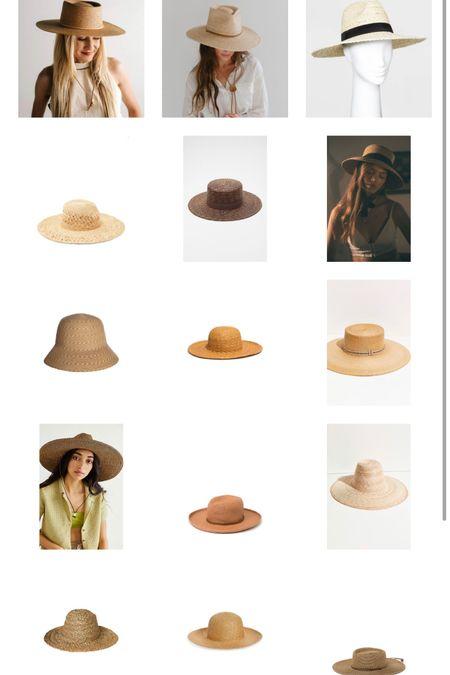 Wide brim straw hats for summer 🤍👒🙌🏼 http://liketk.it/3enbt #liketkit @liketoknow.it