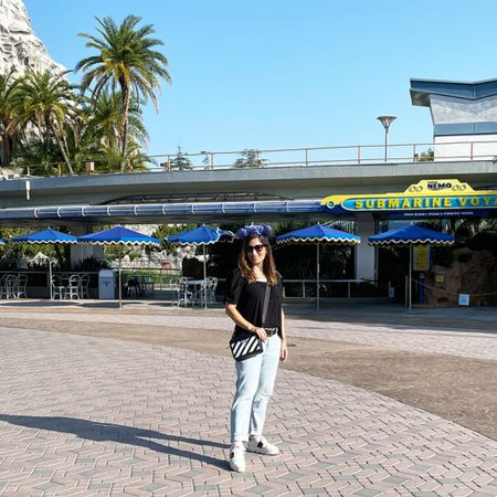 These sneakers were so comfortable and perfect for hours of walking at Disneyland 🙌 wishing I was back at the most magical place on earth 😍  #LTKstyletip #LTKtravel #LTKshoecrush