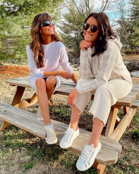 anyone else's mom also their best friend? 🙋🏽♀️ because same (and being able to share each other's closets is just a bonus🤍).    Both of our outfits are from #AnnTaylor 's new comfy work from home line & we are obsessed⚡️ linked everything on my LIKEtoKNOW.it 👉🏼 so click the link in my bio to shop! http://liketk.it/3adM2 @liketoknow.it #liketkit #LTKunder100 #LTKstyletip #LTKspring