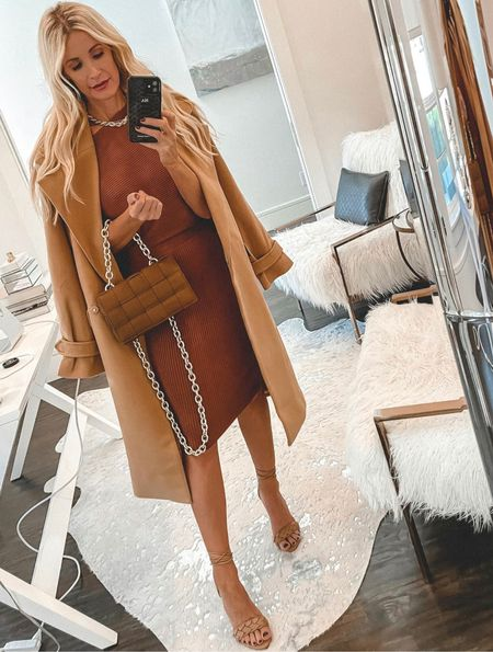 Totally feeling all the camel vibes in this look! This camel coat is so stunning and you won't believe the price! My dress and shoes are both under $100 and perfect for fall.   Camel coat of my dreams and you won't believe the price xs  Follow my shop on the @shop.LTK app to shop this post and get my exclusive app-only content!  #liketkit #LTKshoecrush #LTKunder100 #LTKstyletip @shop.ltk http://liketk.it/3nxgW