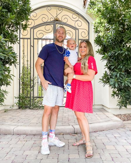 family red, white, and blue style. i'm in the size xl in my red dress! http://liketk.it/3gzyJ #liketkit @liketoknow.it #LTKcurves #LTKshoecrush