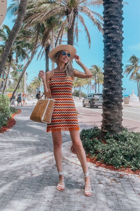 Elegant cover up, retro vibes outfit, beach vacation outfits, straw hat , gladiator white sandals, Resort style outfit, travel outfit, summer essentials   #LTKstyletip #LTKtravel #LTKswim