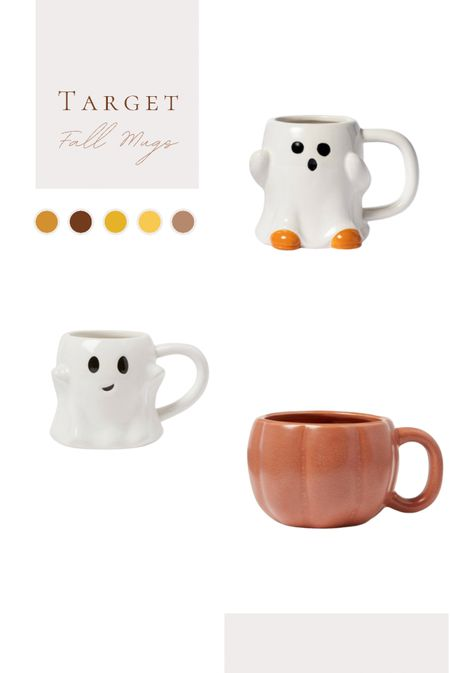 Saw the cutest little mugs for fall/Halloween!  Do you collect mugs for each season?    #LTKSeasonal #LTKhome #LTKGifts