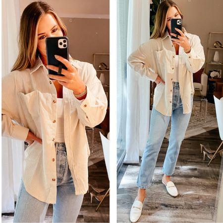 Medium shacket - 27 agolde jeans / amazon fashion, amazon, amazon finds