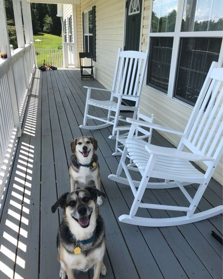 We finally got rocking chairs for the porch !!!Made it feel Southern living official 😆 Now we just need a nice cool breeze! #LTKhome #LTKunder100 #StayHomeWithLTK http://liketk.it/2UkzB #liketkit @liketoknow.it @liketoknow.it.home @liketoknow.it.family @liketoknow.it.europe Screenshot this pic to get shoppable product details with the LIKEtoKNOW.it shopping app