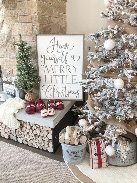 H O M E \ I've got Christmas decor on my mind🎄 Anyone else??  #christmastree #christmas #christmasdecor  #LTKhome #LTKHoliday #LTKunder100