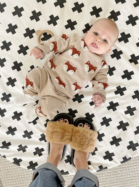 B A B Y \ Little FOXY babe over here today! This set is🙌🏻🙌🏻   #babyboy #baby #babyoutfit  #LTKunder50 #LTKSeasonal #LTKbaby