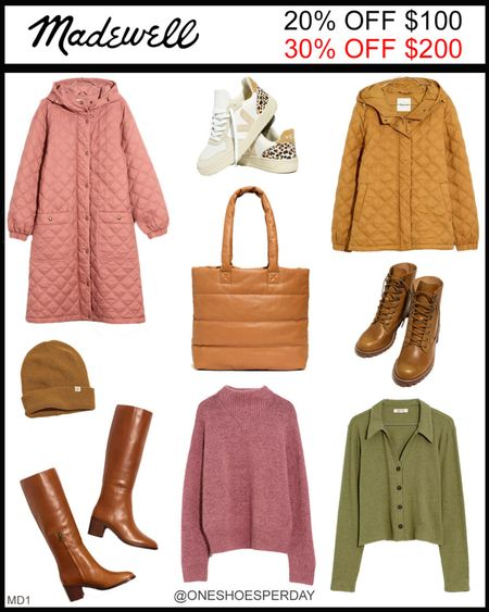MADEWELL Fall Outfits  20% OFF $100 30% OFF $200 Use Code: GOSPREE Ends October 18       http://liketk.it/3pROS @liketoknow.it #liketkit #LTKGiftGuide #LTKHoliday #LTKSeasonal #LTKsalealert #LTKshoecrush #LTKitbag #LTKunder100 #LTKunder50 #LTKworkwear #LTKFall #LTKGifts | Travel Outfits | Teacher Outfits | Back to School | Casual Business | Fall Outfits | Fall Fashion | Pumpkins| Pumpkin | Booties | Boots | Bodysuits | Halloween | Shackets | Plaid Shirts | Plaid Jackets | Activewear | White Sneakers | Sweater Dress | Fall Dresses | Sweater Vests | Cardigans | Sweaters | Faux Leather Pants | Faux Leather Jackets | Coats | Fleece | Jackets | Bags | Handbags | Crossbody Bags | Tote | Wedding Guest Dresses | Gifting | Gift Guide | Gift Ideas | Gift for Her | Mother in Law Gifts |