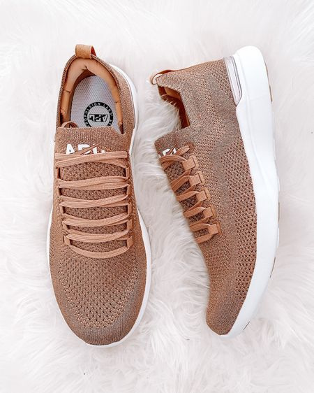 My rose gold APLs are on sale right now! Linking them and other great styles also on sale. Brand runs tts. #fitness #workout #apl #sneakers #active #shopbop #fashionjackson http://liketk.it/3iiR2 #liketkit @liketoknow.it #LTKsalealert #LTKfit #LTKshoecrush