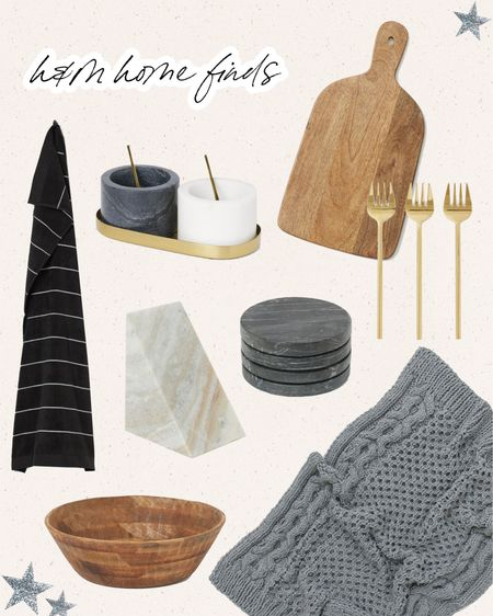 Newest H&M Home finds! Trays, bowls, servewear, and more for the holidays. http://liketk.it/311Xs #liketkit @liketoknow.it #StayHomeWithLTK #LTKhome #LTKunder100