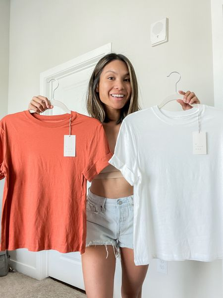 Transition into the fall season with theee cuffed tees by A New Day from Target. Just $8 each! Wear with shorts, joggers, jeans, pants, the list is endless.   #LTKstyletip #LTKSeasonal #LTKunder50