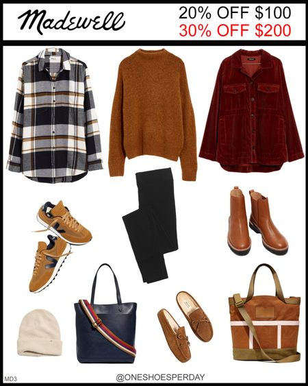 MADEWELL Fall Outfits  20% OFF $100 30% OFF $200 Use Code: GOSPREE Ends October 18       http://liketk.it/3pRJy @liketoknow.it #liketkit #LTKGiftGuide #LTKHoliday #LTKSeasonal #LTKsalealert #LTKshoecrush #LTKtravel #LTKunder50 #LTKworkwear #LTKitbag #LTKunder100 #LTKFall #LTKGifts | Travel Outfits | Teacher Outfits | Back to School | Casual Business | Fall Outfits | Fall Fashion | Pumpkins| Pumpkin | Booties | Boots | Bodysuits | Halloween | Shackets | Plaid Shirts | Plaid Jackets | Activewear | White Sneakers | Sweater Dress | Fall Dresses | Sweater Vests | Cardigans | Sweaters | Faux Leather Pants | Faux Leather Jackets | Coats | Fleece | Jackets | Bags | Handbags | Crossbody Bags | Tote | Wedding Guest Dresses | Gifting | Gift Guide | Gift Ideas | Gift for Her | Mother in Law Gifts |