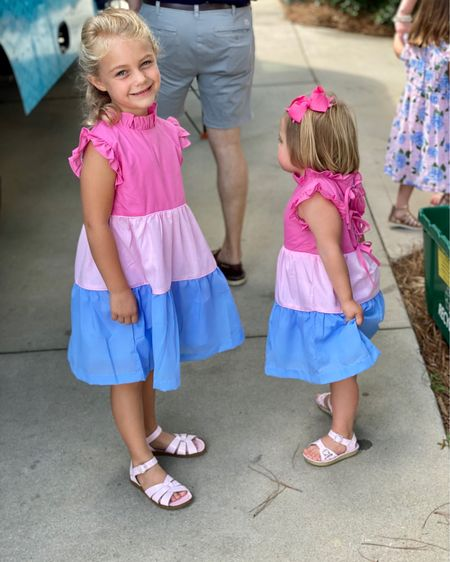 Pink and blue has never been cuter! 💗💙💗 http://liketk.it/3ivo0 #liketkit @liketoknow.it #LTKkids #LTKbaby Follow me on the LIKEtoKNOW.it shopping app to get the product details for this look and others