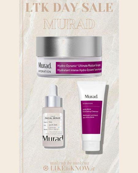 http://liketk.it/3hsFH #liketkit @liketoknow.it #LTKbeauty #LTKunder50 #LTKsalealert Save 25% off on Murad Skincare during this weekend's LTK DAY Sale.