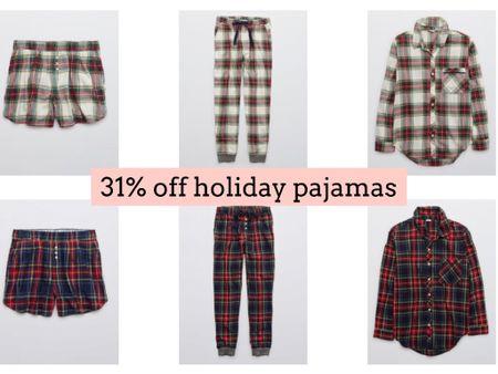 Aerie holiday pajamas sale   #LTKSeasonal #LTKHoliday #LTKsalealert