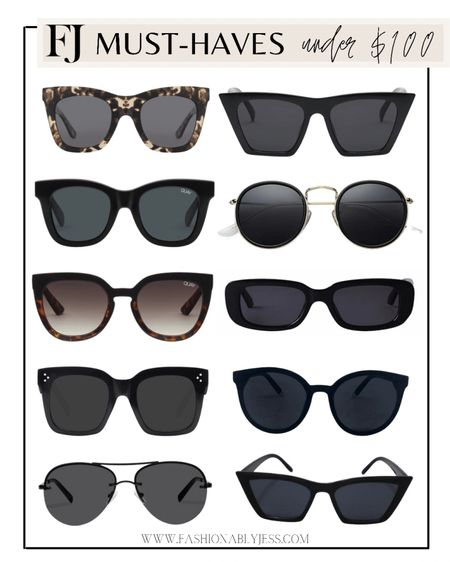 Sunnies under $100  #LTKstyletip #LTKsalealert #LTKunder100