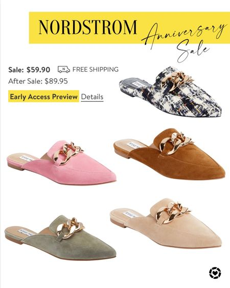 Nordstrom Anniversary sale Steve Madden Slides   #LTKstyletip #LTKsalealert #LTKshoecrush