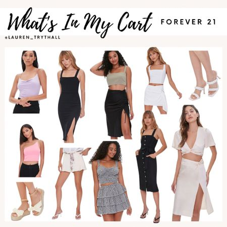So many cute vacation outfit ideas from forever 21! Current wishlist from forever 22. I love all of these summer pieces  #LTKSeasonal #LTKstyletip #LTKsalealert