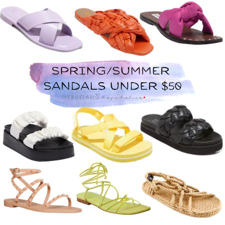 It's sandal season! Check out these spring and summer sandals under $50.   Follow me on the @liketoknow.it  shopping app to get the product details or on our 'Shop Instagram' page in the bio. {CH 👸🏾}   Direct Link: http://liketk.it/3e75q   • • • #frugalshopaholic #frugalshopper #frugalfashion #frugalfashionista #affordablefashion #affordablestyle #budgetfashion #styleonabudget #fashiononabudget #fashionforless #blackfashionblogger #fashionblogger #styleblogger #shoppingblog #blackgirlswhoblog #browngirlbloggers #dmvblogger #lablogger #liketkit