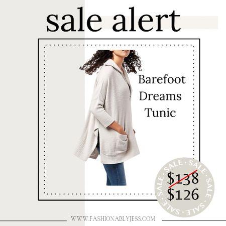 Barefoot Dreams tunic on sale!   #LTKsalealert #LTKunder100 #LTKunder50