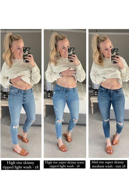 Abercrombie jeans   #LTKsalealert #LTKunder100 #LTKSale