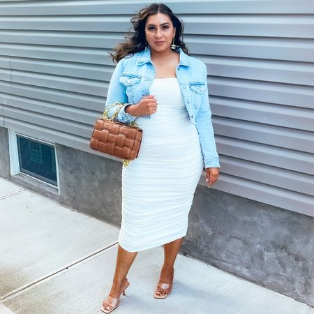 It was a white dress kind of day   #LTKstyletip #LTKcurves #LTKfit