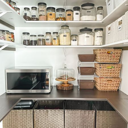 Pantry Storage in a budget! Check my recent blog post for how we achieved this look on a low budget! Follow me on the LIKEtoKNOW.it shopping app to get the product details for this look and others @liketoknow.it.home @liketoknow.it #LTKhome #LTKunder50 #liketkit http://liketk.it/34MPe