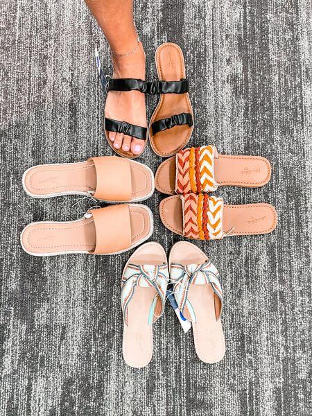 Cute slides at Target  Sandals   #LTKunder50 #LTKstyletip #LTKshoecrush