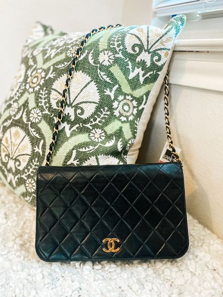 Finally found my dream bag! This is a vintage Chanel single flap bag from the 1990s that I picked up in Dallas. 😍 I linked to two for sale online right now. As hesitant as I was, I'm glad I took the leap! http://liketk.it/2QZ4m @liketoknow.it #liketkit #LTKitbag #LTKstyletip