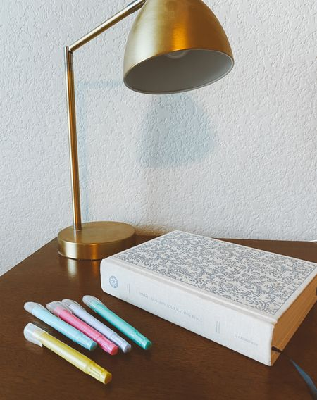 My Bible I use the most with my favorite highlighters!  #LTKbacktoschool #LTKhome #LTKstyletip