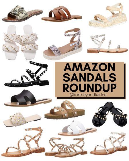 Amazon Sandals Roundup!  Amazon shoes | amazon sandals | Amazon shoe roundup | Amazon summer shoes | Amazon summer sandals | Amazon finds | amazon girly things | amazon beauty | amazon home finds | amazon self care | amazon beauty favorites | amazon fashion favorites | amazon must haves | amazon best sellers | amazon beach essentials | amazon summer finds | amazon summer favorites | amazon beach favorites | amazon beach must haves | summer favorites | amazon summer essentials | amazon vacay | amazon vacay favorites | amazon beach favorites | amazon vacation favorites | amazon summer must haves | Kortney and Karlee | #kortneyandkarlee #LTKunder50 #LTKunder100 #LTKsalealert #LTKstyletip #LTKshoecrush #LTKSeasonal #LTKtravel #LTKswim @liketoknow.it #liketkit http://liketk.it/3hLFO