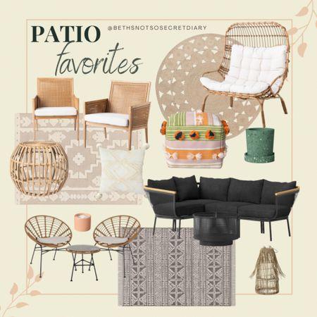 Patio favorites! http://liketk.it/3d2bM #liketkit #LTKunder100 #LTKhome #LTKfamily #ltkpatio #patiofurniture #summer #deckfurniture @liketoknow.it @liketoknow.it.home @liketoknow.it.family