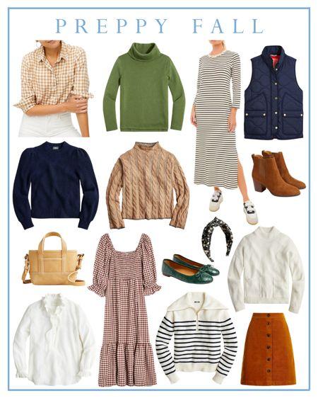 Preppy fall fashion   #LTKunder50 #LTKunder100 #LTKSeasonal