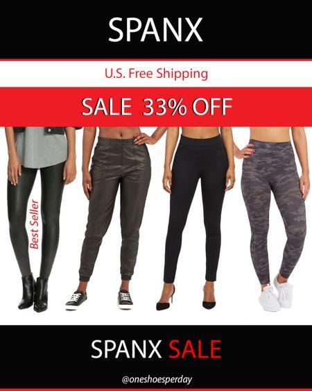 SPANX Sale 33% OFF  Best Seller Faux Leather Leggings  Faux Leather Jogger Active Leggings     http://liketk.it/3l8HB @liketoknow.it #liketkit #LTKDay #LTKsalealert #LTKunder50 #LTKtravel #LTKworkwear #LTKunder100 #LTKfit #spanx #leggings #fauxleatherleggings #sportbra #gym #yoga