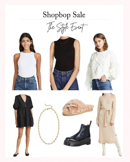 Shopbop Sale - The Style Event. Take 15% off $200+ with code STYLE. Fall fashion, fashion sale, women's sweaters, fall dresses, fall sweaters   #LTKsalealert #LTKstyletip