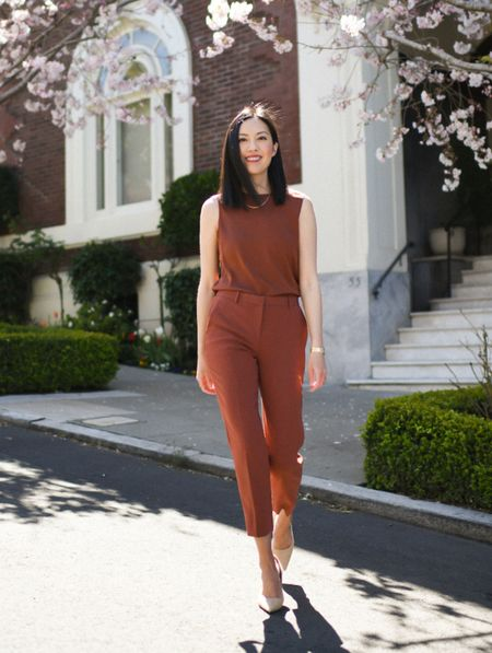 These trousers are on sale for $147. The crepe fabric is lovely and wears very well all day long.   #LTKworkwear #LTKsalealert