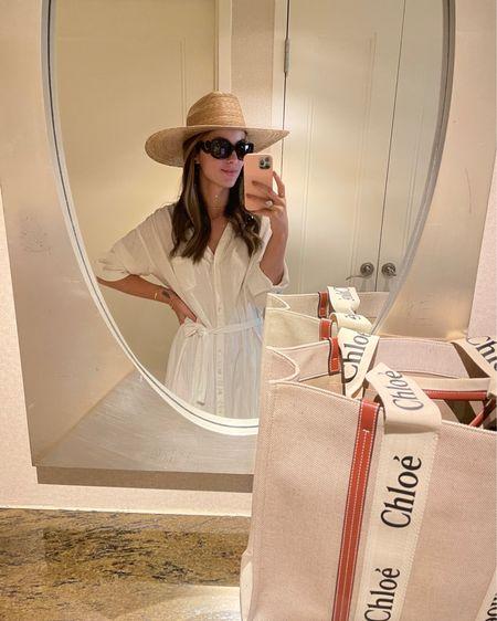 Summer ready | Chloe bag| linen dress http://liketk.it/3dJxc #liketkit @liketoknow.it #LTKeurope