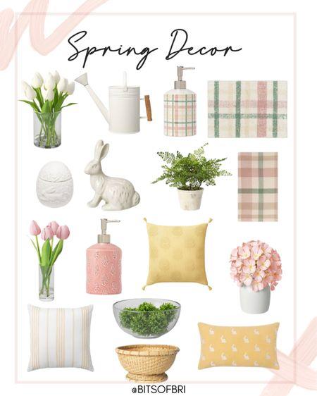 Spring home decor. Target decor. Spring decor. Target finds. Vase. Faux flowers. Rug. Towels. Kitchen decor. Living room decor. Throw pillows. #liketkit http://liketk.it/38RXz @liketoknow.it #LTKSeasonal #LTKhome #LTKunder50