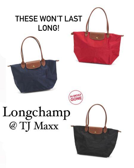 Longchamp bags at TJ Maxx, longchamp shoulder bags http://liketk.it/39Ll7 #liketkit @liketoknow.it #LTKstyletip #LTKitbag #LTKunder100