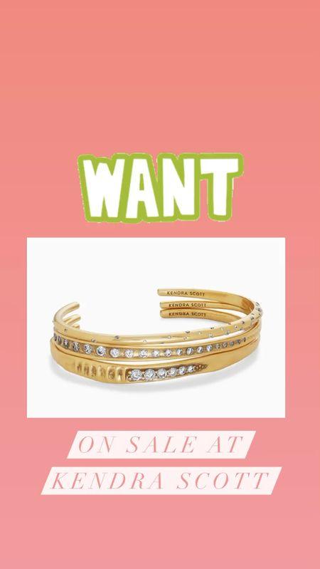 How cute is this Kendra scott bracelet stack?! 😍   #LTKunder100 #LTKsalealert #LTKbeauty
