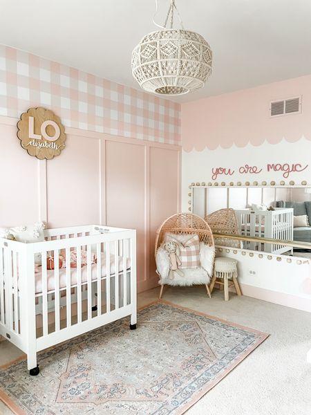 A little lady, a lotta pink! Lo's nursery is live on the blog!     #LTKbaby #LTKbump #LTKhome