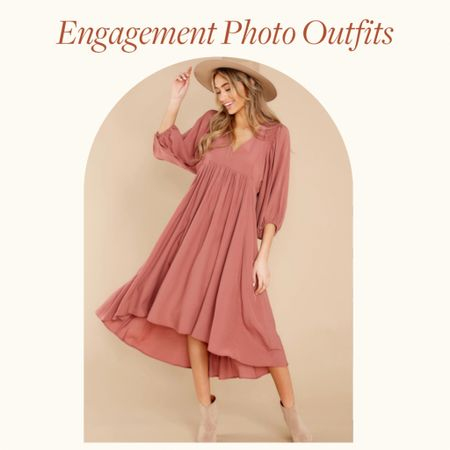 Engagement Photo Outfits Ideas—  This boho dusty rose sleeveless maxi dress, is perfect for the boho bride for Spring engagement photo outfits, summer engagement photos outfits and fall engagement photos outfits with a little class and flare   Would be a great wedding guest dress option too!   http://liketk.it/38nWK #liketkit @liketoknow.it        #LTKVDay #LTKstyletip #LTKwedding