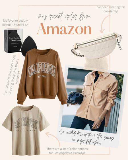 Neutral fall fashion finds from Amazon 🙌🏽  #LTKSeasonal #LTKunder50