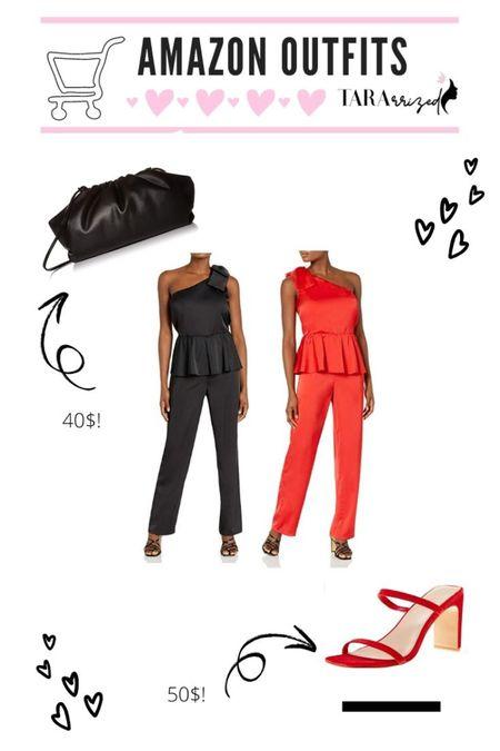 New Amazon the Drop date night pieces to snag!  http://liketk.it/37oDv   #liketkit @liketoknow.it #LTKunder100 #LTKunder50 #jumpsuits #amazonfinds #valentines  #LTKstyletip