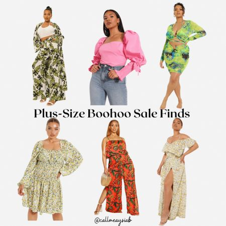 Boohoo 60% off sale is happening! These are a few plus size pieces from Boohoo that I love and think is perfect for the summer. Boohoo has dresses, rompers, co-ord sets that are perfect to wear anywhere! Make sure you don't miss this 60% sale http://liketk.it/3heBP #liketkit @liketoknow.it #LTKcurves #LTKsalealert #LTKDay You can instantly shop all of my looks by following me on the LIKEtoKNOW.it shopping app