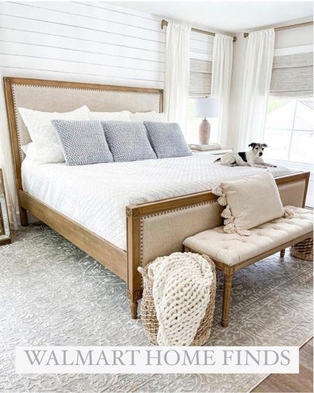 Walmart bedroom home decor   http://liketk.it/3hKFH #liketkit @liketoknow.it #LTKunder50 #LTKsalealert #LTKhome #laurabeverlin