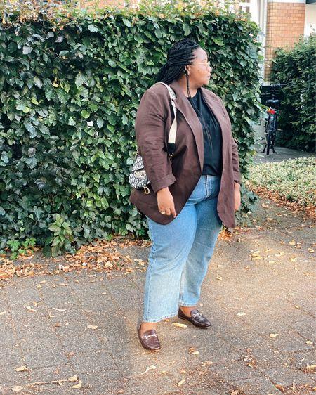 Blazer and jeans   #LTKcurves #LTKstyletip #LTKunder50